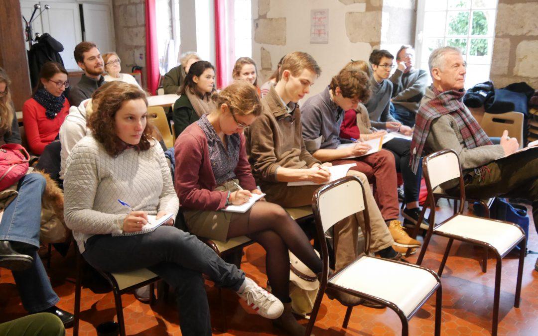 Journée d'études à Chartres